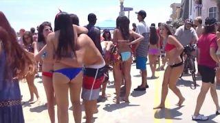 Beach of Newport Beach California